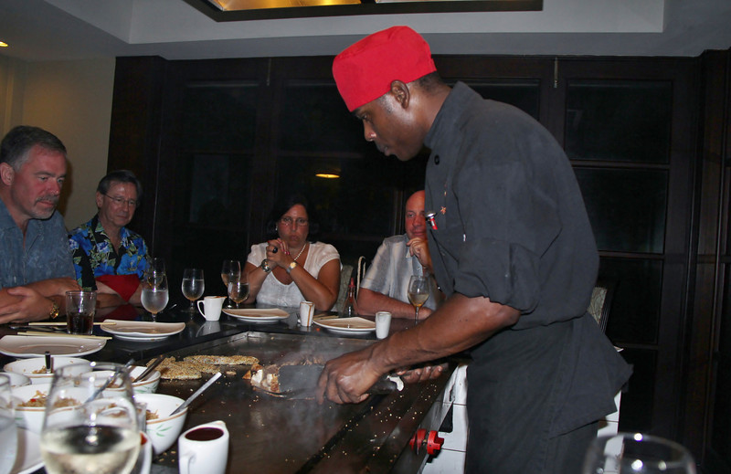 Dinner at Komono's