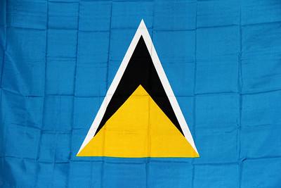 St. Lucia's flag