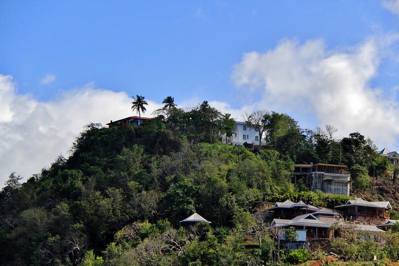 Oprah Winfrey's estate in St. Lucia