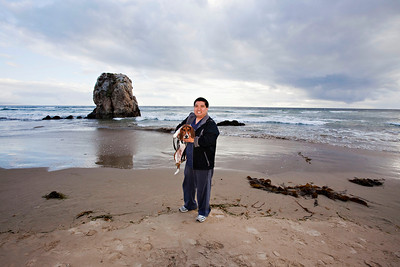 Todd and Suki, Pismo Beach