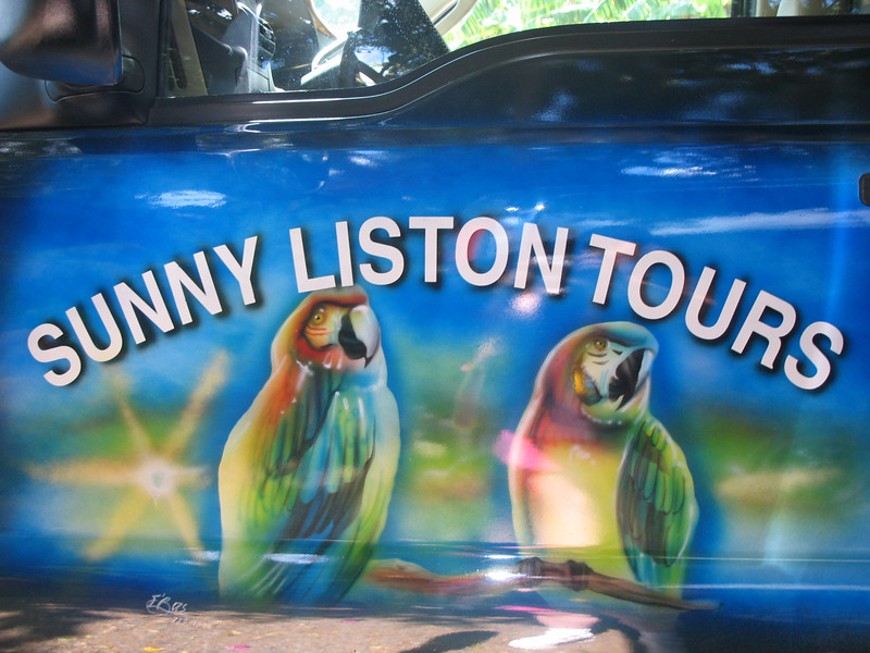 We took a tour with Sunny.