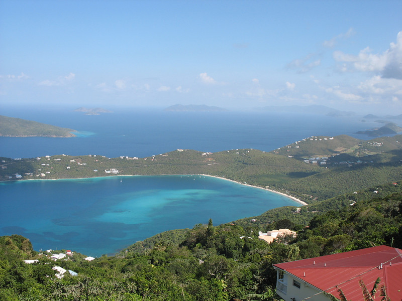 Magnificent view from atop St. Thomas.