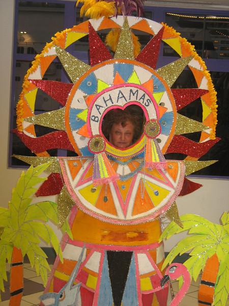 Miss Bahamas.