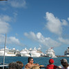 Ships docked in Nassau.