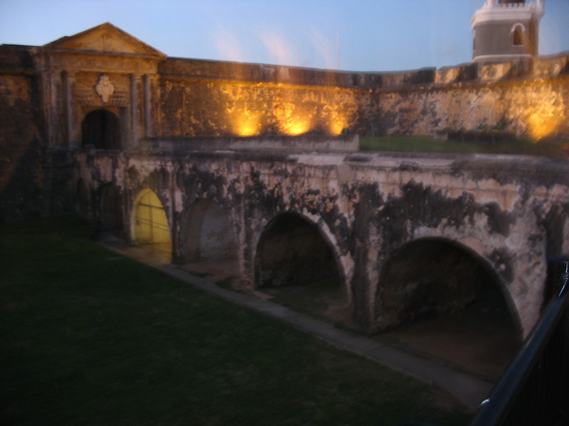 The fortress was completed in 1589.