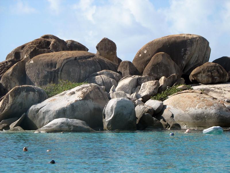 Virgin Gorda boulders.