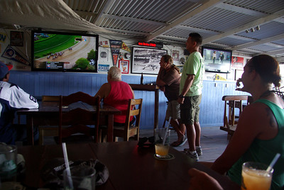 Caught the Kentucky Derby at the sports bar