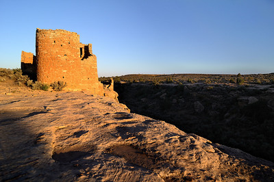 Hovenweep Castle at Sunset