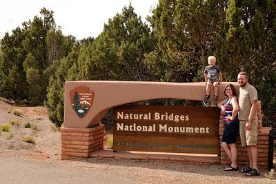 Natural Bridges sign
