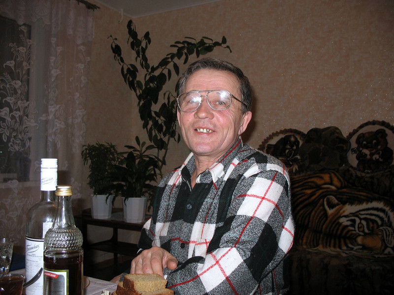 Ekaterina's husband.