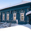 Typical Russian house. (Zlatoust, Russia)