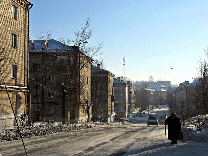Ulitsa Shishkina. Rustem grew up on this street. (Zlatoust, Russia)