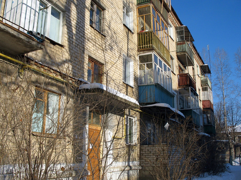 The 'house' where Rustem grew up.
