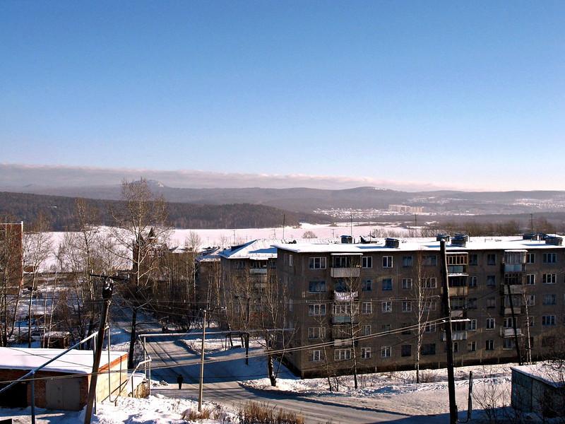 Rustem's hometown, Zlatoust.