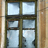 Frosty window in Zlatoust.