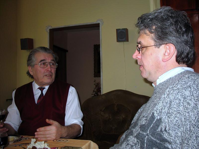 Lena's Dad & Rustem.