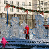 Chelyabinsk ice sculptures.