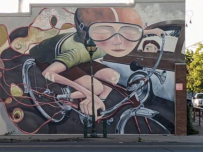 Flagstaff downtown art