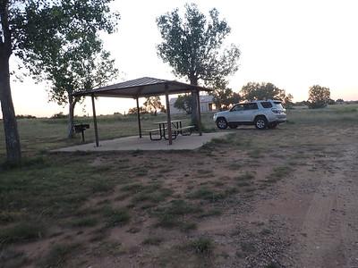our campsite in Ute SP