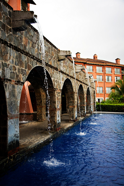One of the pools at the Marriott Los Suenos.