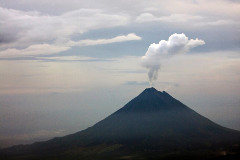 Arenal Volcano blowing off steam.
