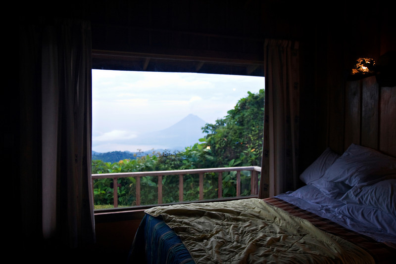 View from our room, Mirador Lodge.