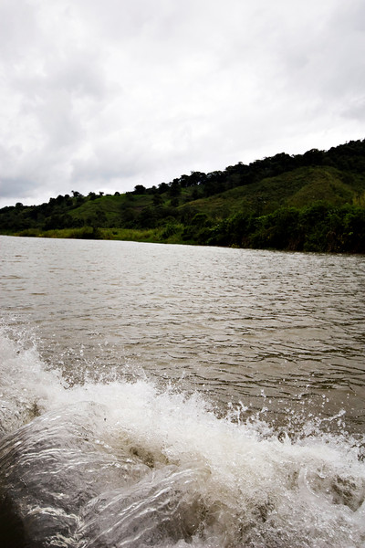 Boatride from Monteverde to the Arenal Volcano.