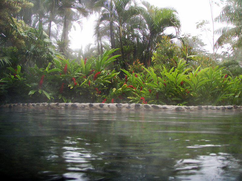 Tabacon Hot Springs.