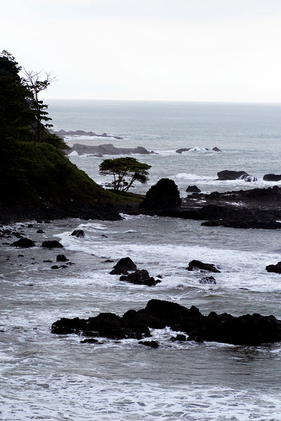 Pacific coast south of Jaco