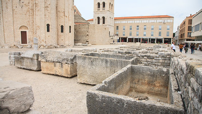 Old roman burial cribs