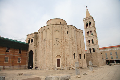 The oldest Church  in Zadar, Saint Anastasia