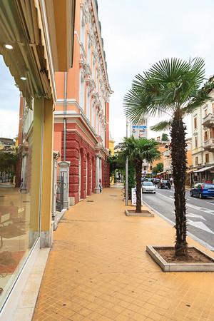 Walking the streets of Opatija