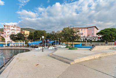 Shore line in Opatija