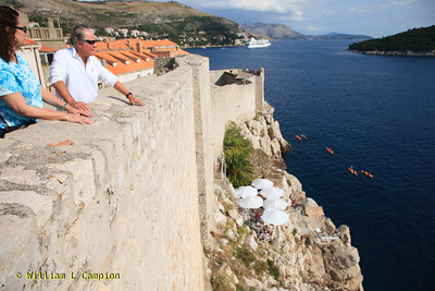 Old Town Walled City in Dubrovnik