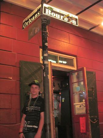 Kenny on Bourbon St.