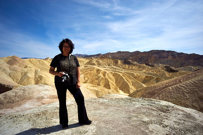 Tara at Zabriske Point