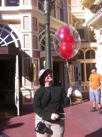 he bought me a balloon!!!