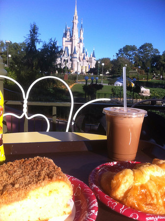 breakfast with the castle