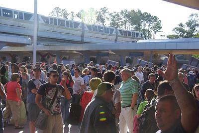kinda crowded