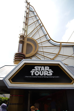 Star Tours Facade