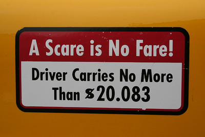 A Scare is no Fare!