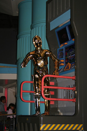C3PO at Star Tours