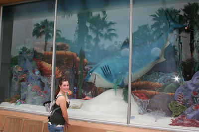 Sister outside of Finding Nemo Diaramma
