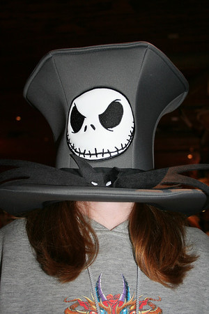 Hat too big!
