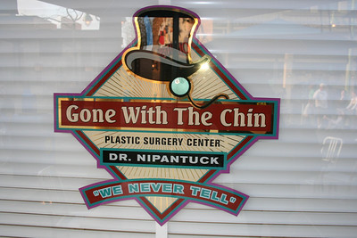 Gone with the Chin in California Adventure