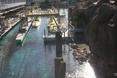 Submarine Ride loading docks
