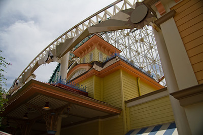 Toy Story Midway Mania building