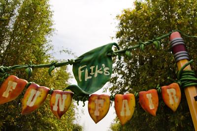 Flick's Fun Fair Sign