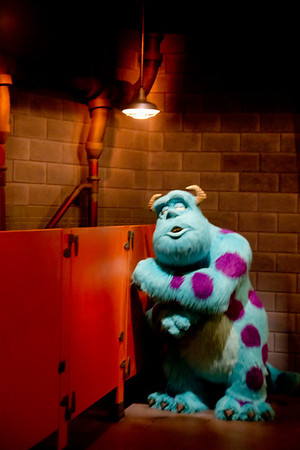 Sulley Looking for Boo
