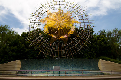 California Adventure Sun Statue